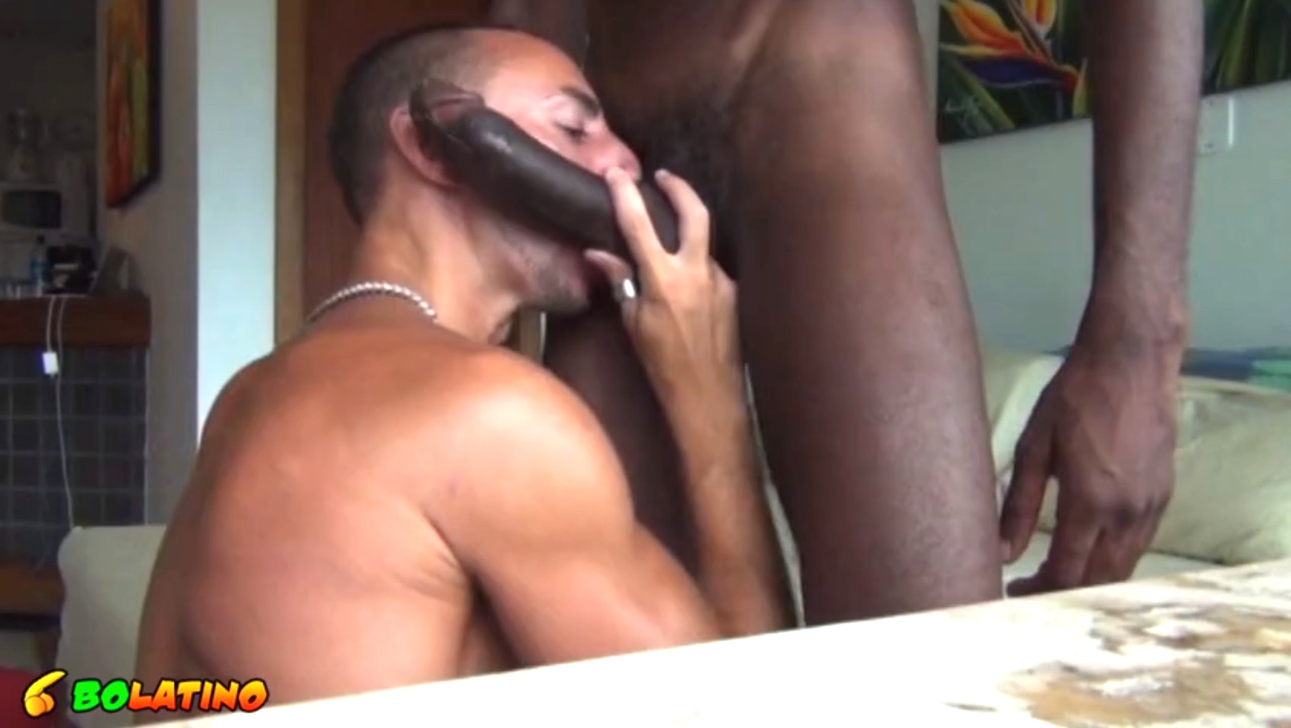 enorme bite de black gay baise gay nature