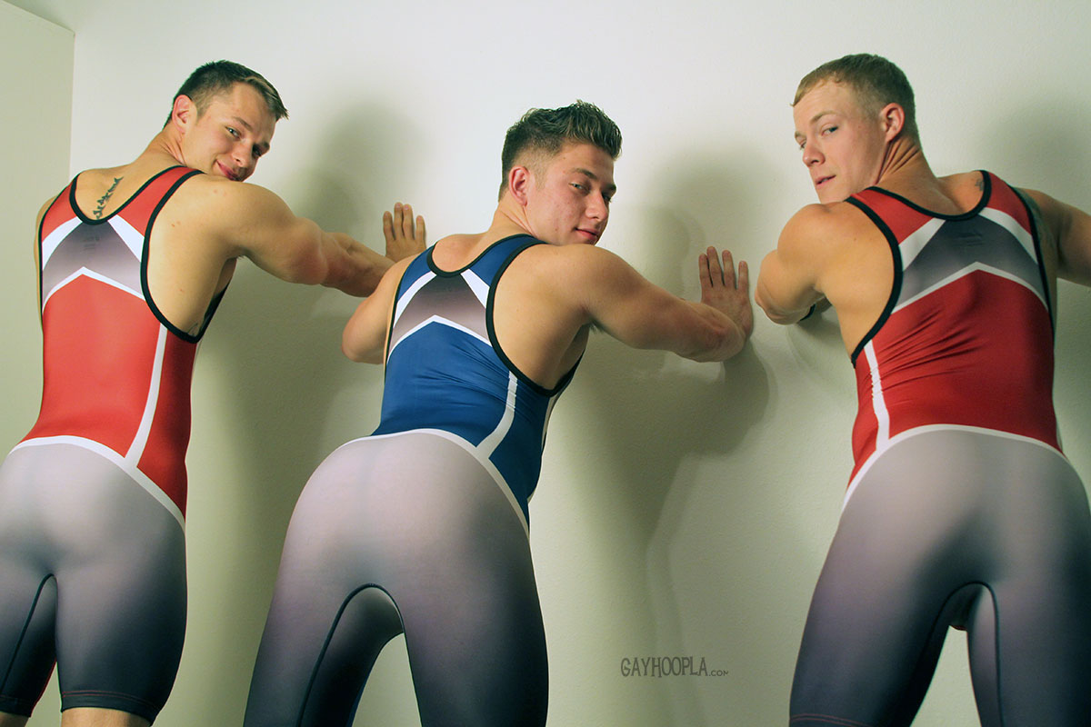 Gay spandex video