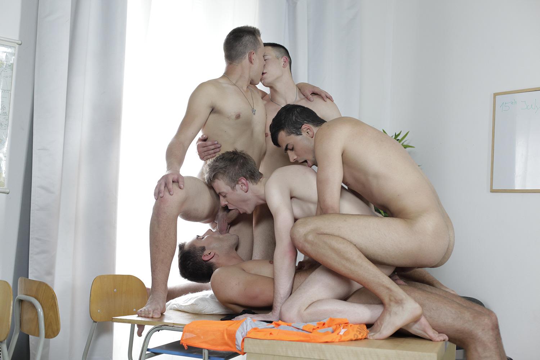 Photo Partouze Gay 90