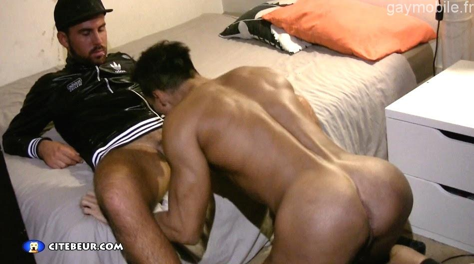 black gay actif cul gay