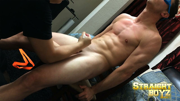 Horny str8 muscle jarhead busts his nut 10