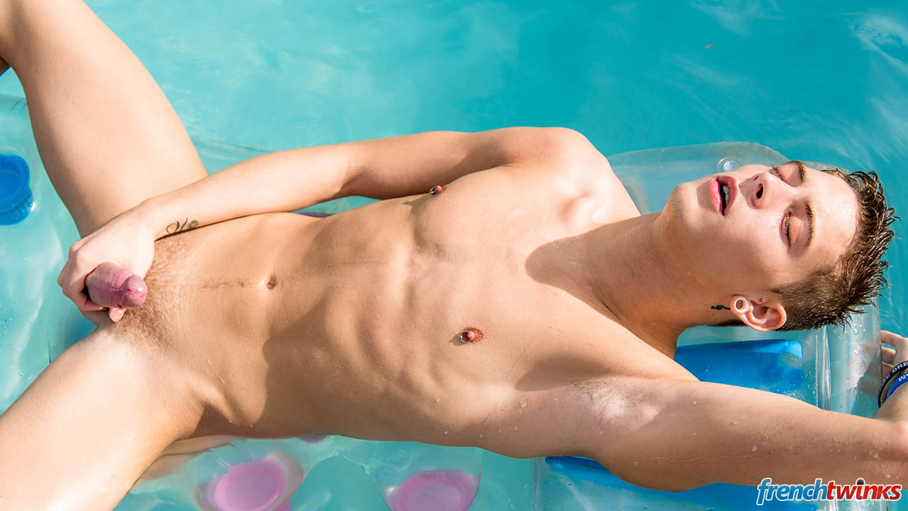 Gay twink solo hot playing