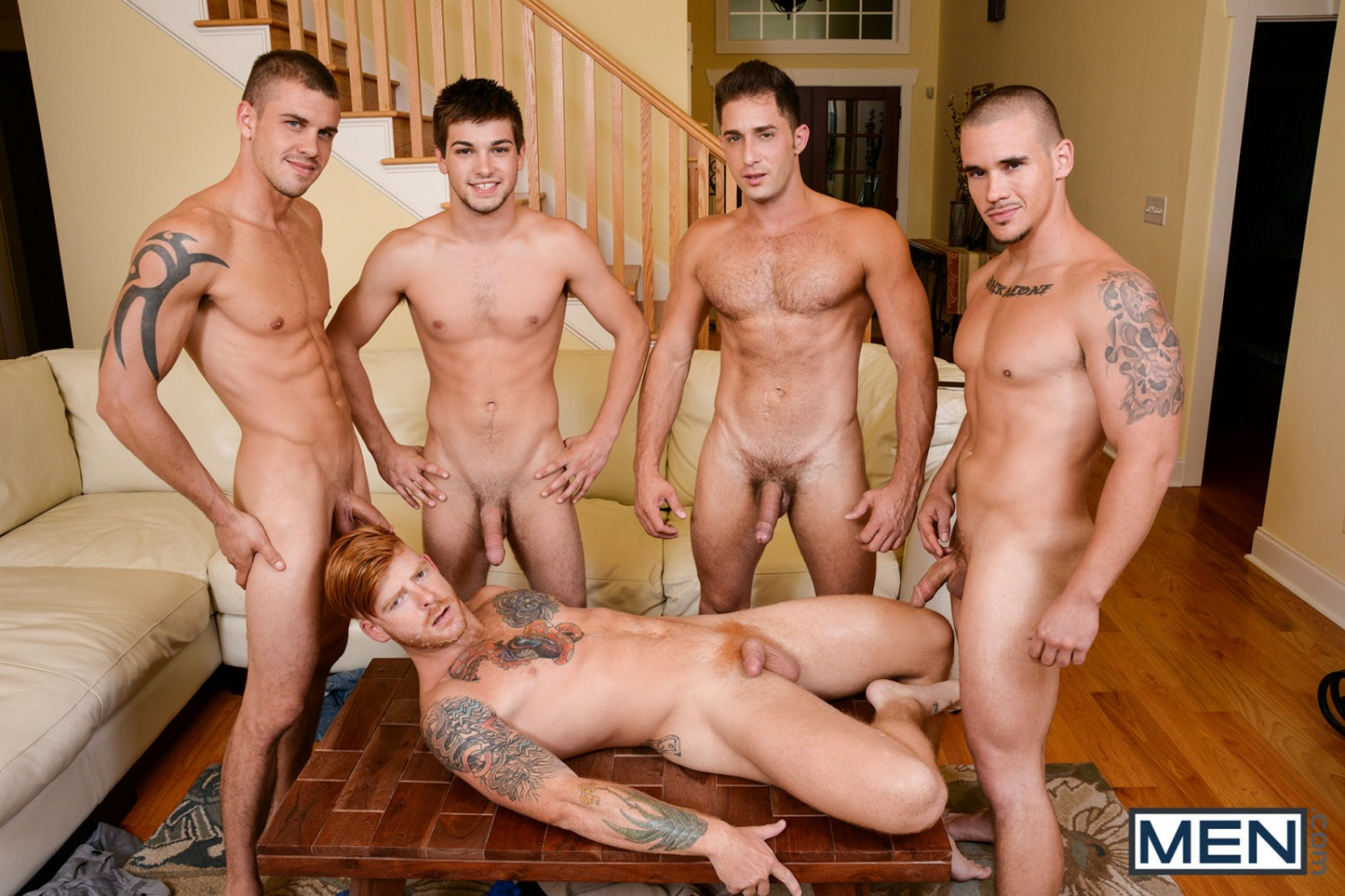 all male orgy