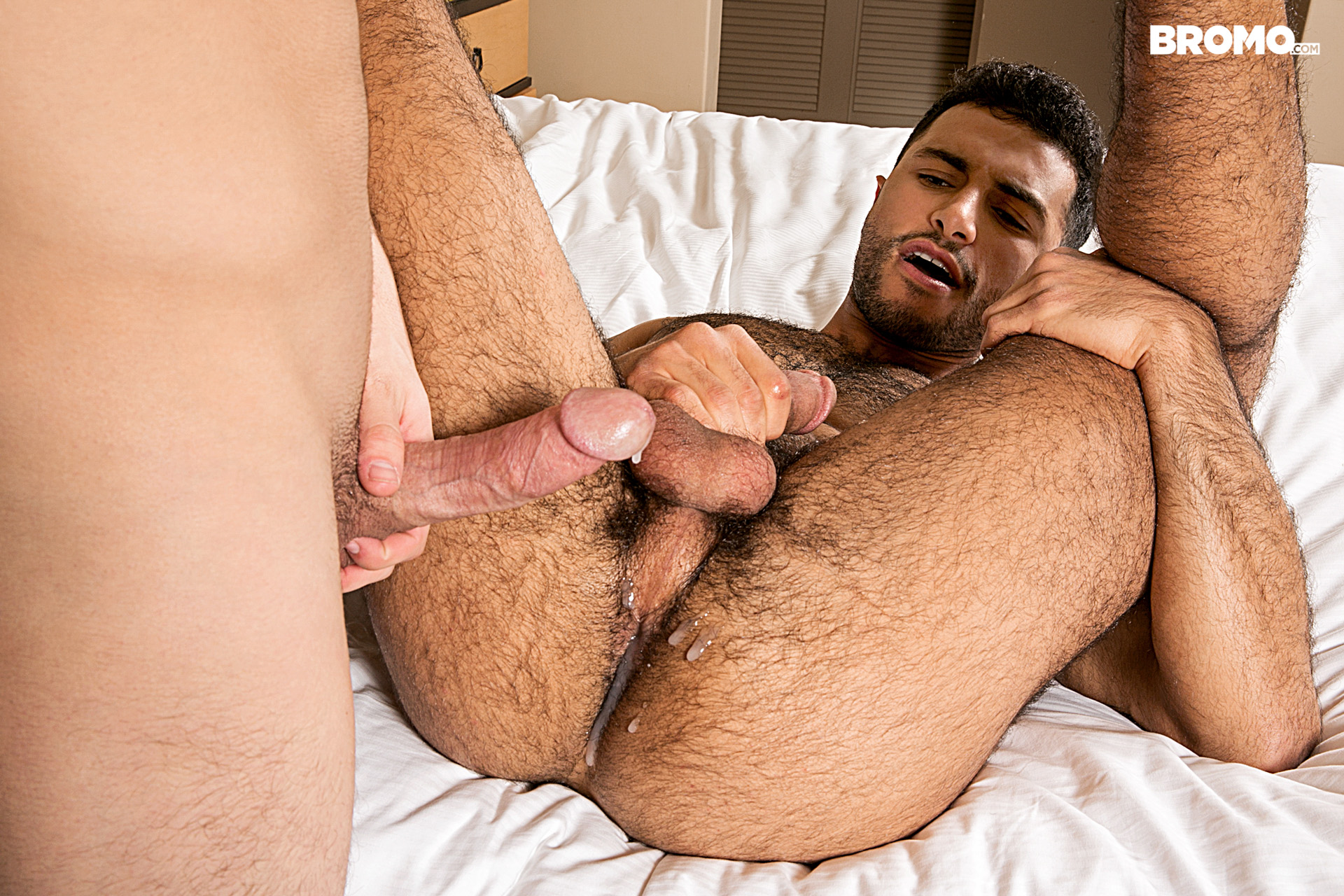 Gay anal cum shorts zaden pumps in and out 10