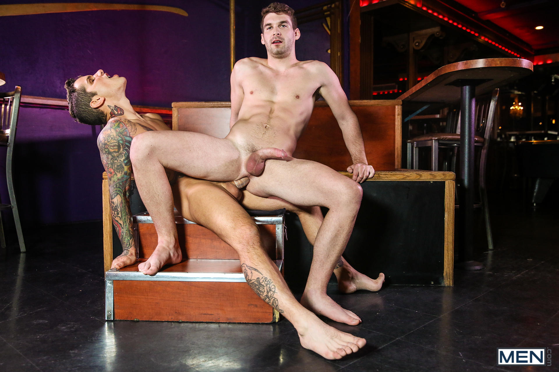 Gay jocks dustin fitch has a phat man meat 8