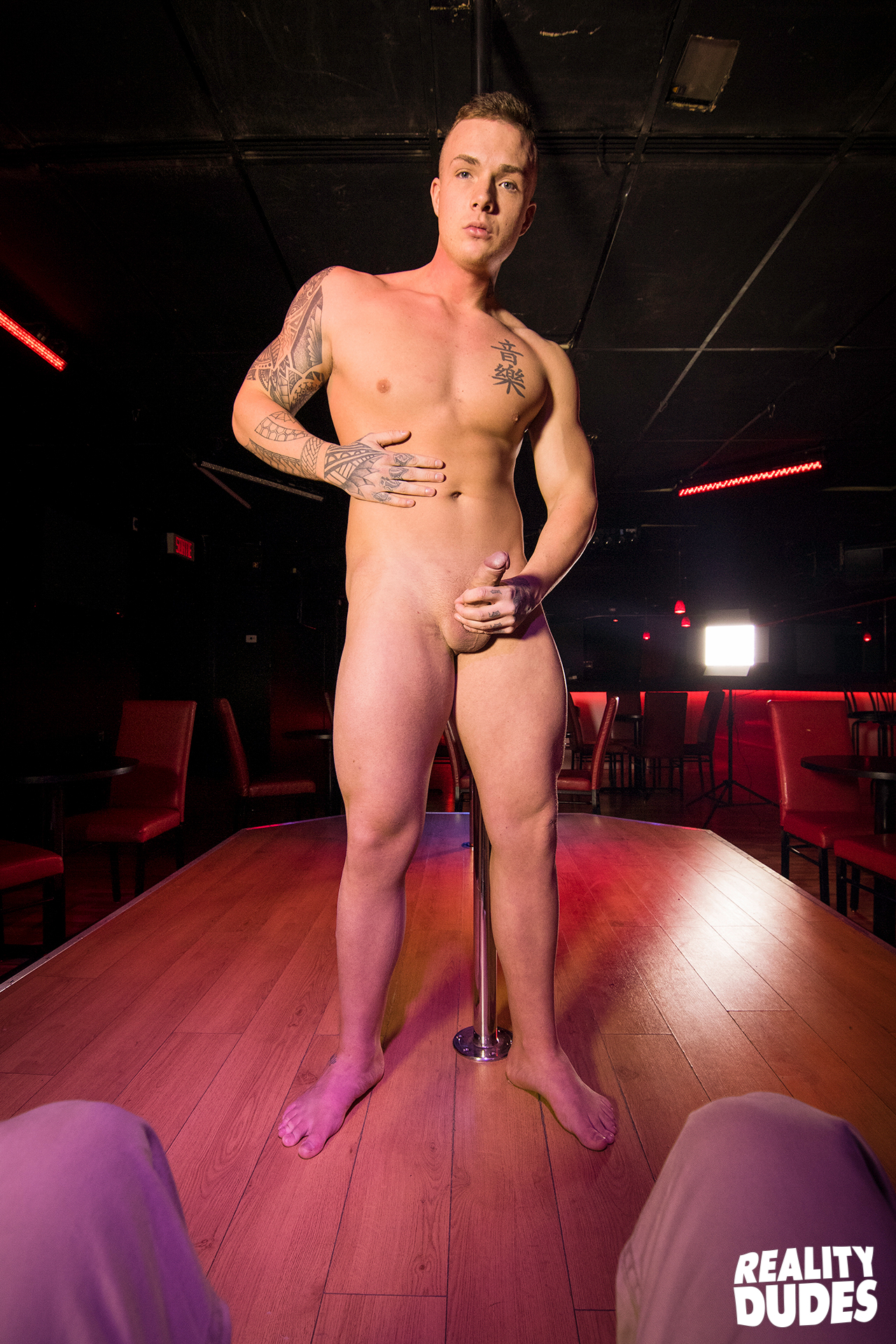 Girls at male strip club-8398